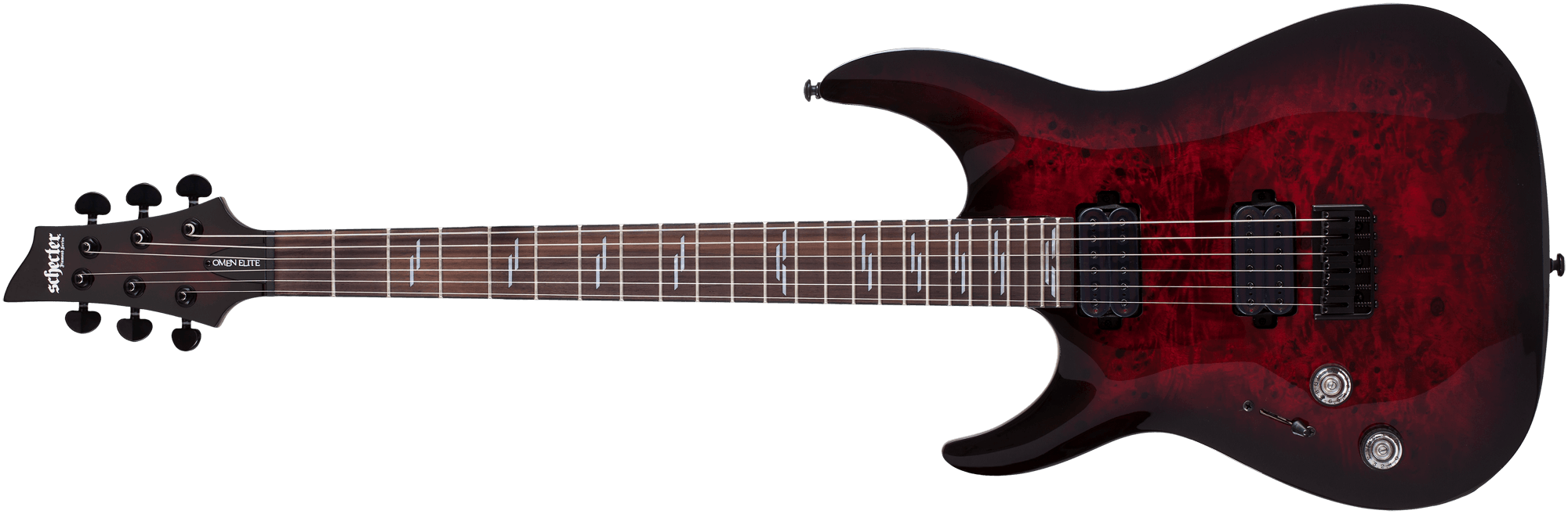 Black Cherry Burst lefthand